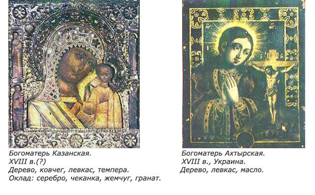 Экспонаты коллекции: иконы XVIII века
