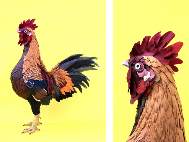Диана Белтран Эррера: бумажная птица. Фото 1