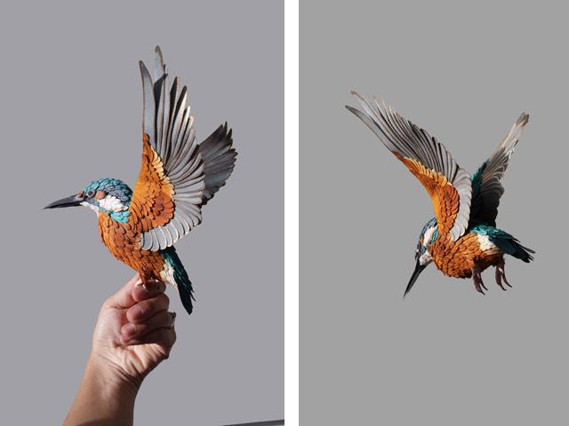 Диана Белтран Эррера: бумажная птица. Фото 12