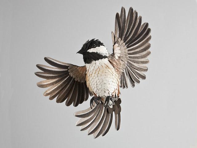 Диана Белтран Эррера: бумажная птица. Фото 4