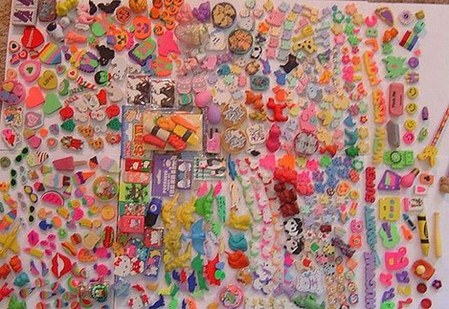 Хобби – коллекционирование ластиков