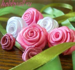 Искусственные розы своими руками как хобби