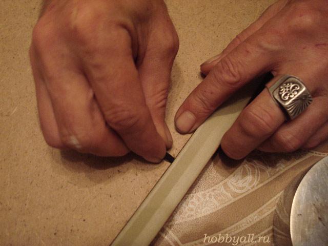 Как вставить вышивку в рамку