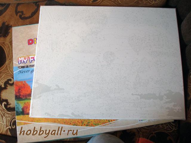 Набор для рисования: полотно на подрамнике
