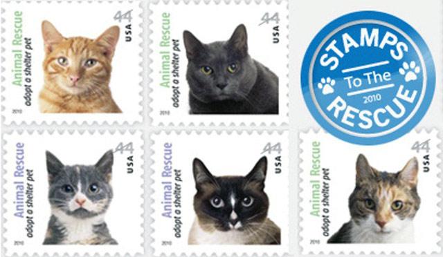 Коллекционирование марок кошачьей тематики