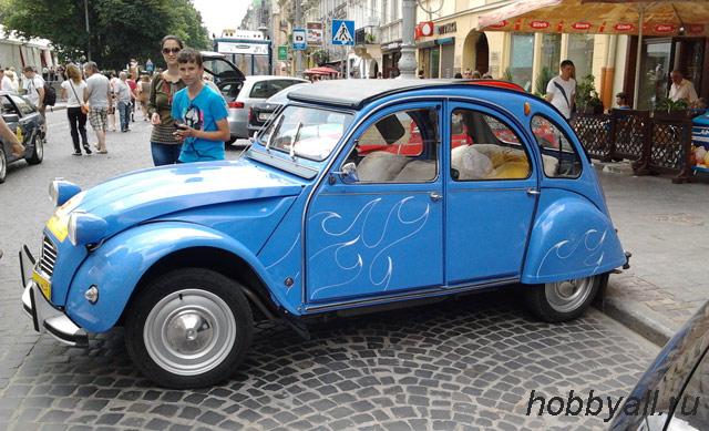 Хобби – коллекционирование ретро-авто