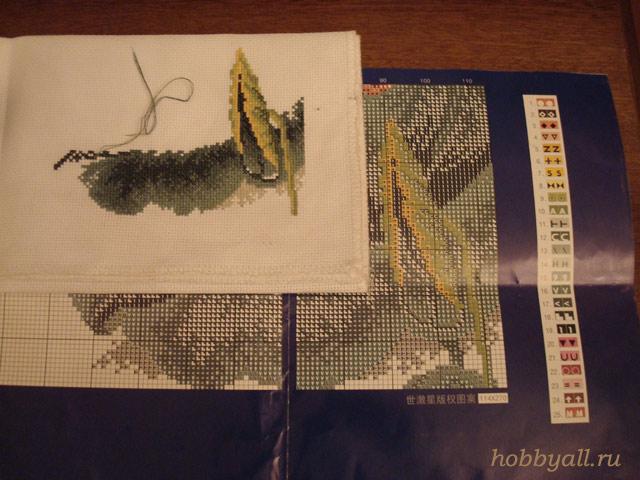 Схема рисунка для вышивки