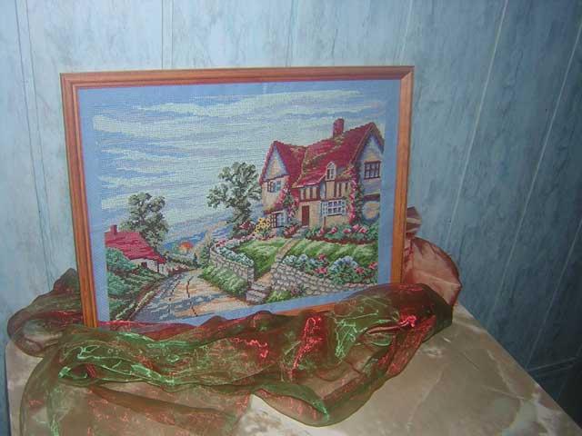 Хобби - вышивка картин