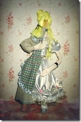 Самодельные куклы. Авторская кукла Золушка в полночь